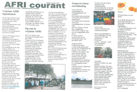 AFRI Courant